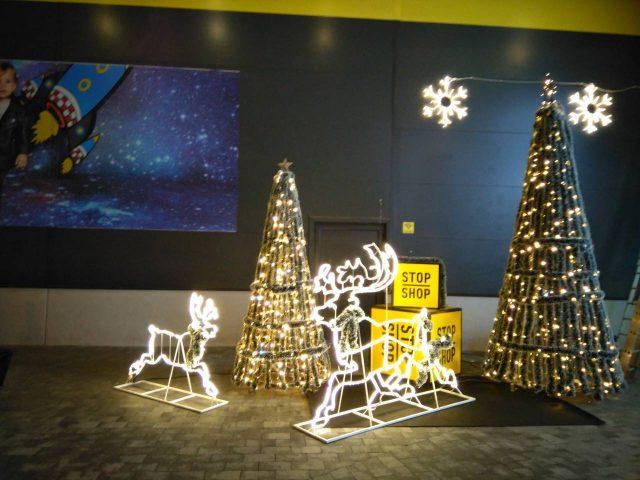 Spoljna Led Novogodišnja i Božićna rasveta